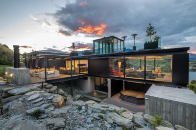 Award-winning holiday home in New Zealand