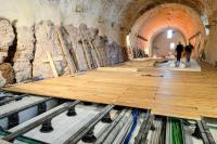 The restoration of Castel Thun in Trentino - Impertek's pedestals for the protection of cultural heritage